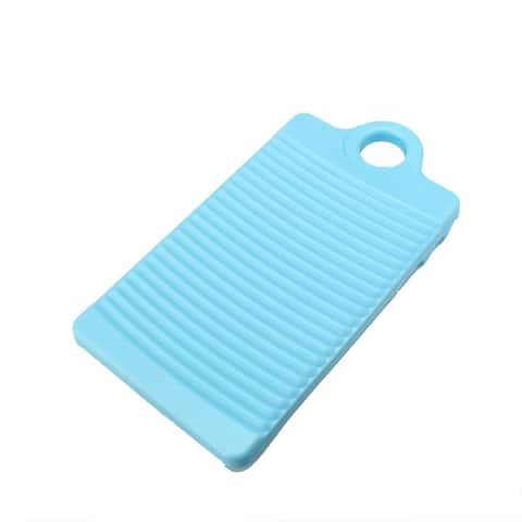 Laundry Bathroom Clothes Garment Pants Washing Board Plate Turquoise