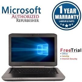 "Refurbished Dell Latitude E5420 14.0"" Laptop Intel Core i3 2310M 2.1G 4G DDR3 250G DVD Win 10 Home 1 Year Warranty"