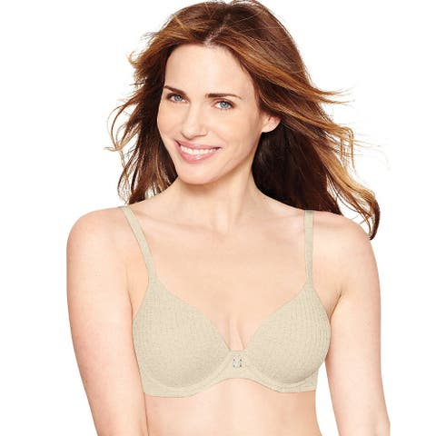 252c2b633bd Hanes Ultimate Comfortblend T-Shirt Natural Lift - Size - 38B - Color -  Oatmeal