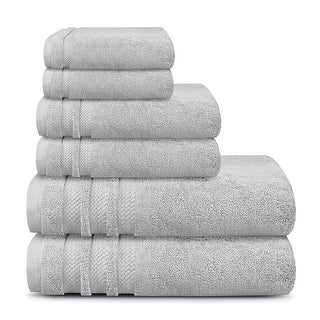 Link to Finesse - Opulent, Zero Twist Cotton Towel Set (625 GSM) Similar Items in Towels