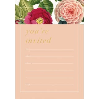 "Kaiser Style Invitation Pack 5""X7""-Garden Party"