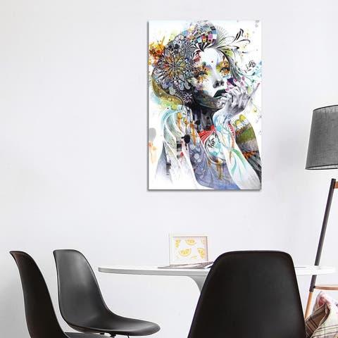 """iCanvas """"Circulation"""" by Minjae Lee Canvas Print"""