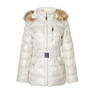 HFX Women's Hooded Puffer Jacket