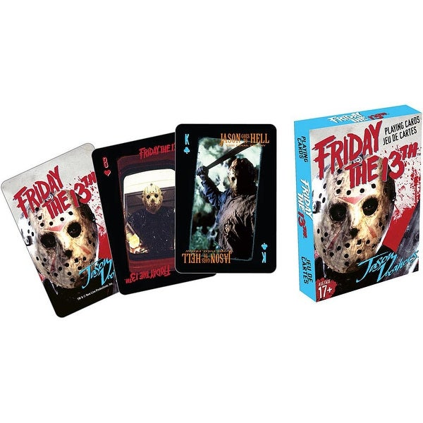 Friday the 13th Playing Cards - multi