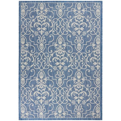 Nourison Garden Party Patterned Indoor/Outdoor Area Rug