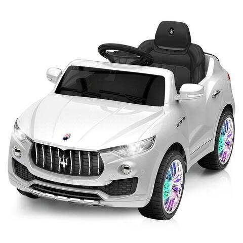 Costway 6V Licensed Maserati Kids Ride On Car RC Remote Control
