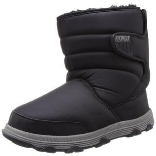 Khombu Womens Wanderer Faux Fur Lined Snow Boots
