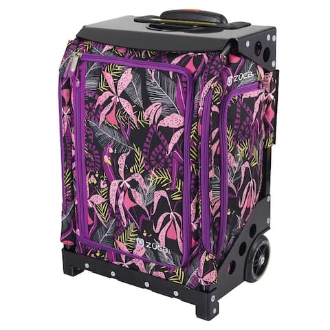 "Zuca Navigator Carry-On Bag with Built-In Seat, Wild Orchid (Black Frame) - 20.5"" x 14"" x 9.65"""