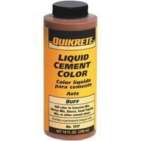 Quikrete Buff Liquid Cement Color 1317-02 Unit: EACH