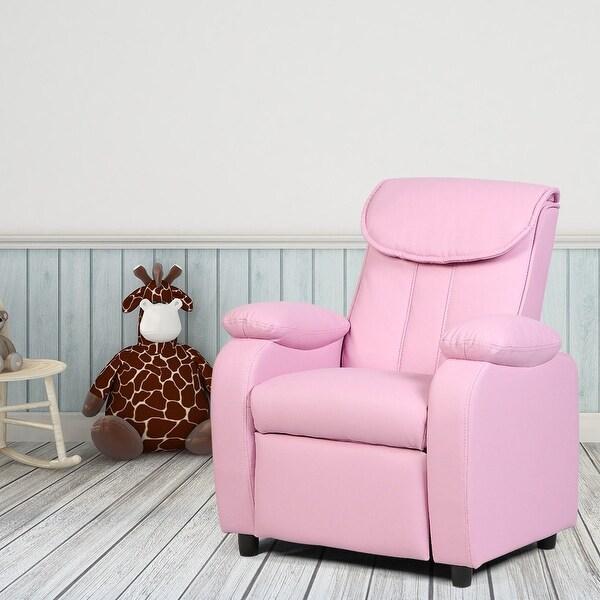 Shop Costway Kid Recliner Sofa Armrest Chair Couch Children