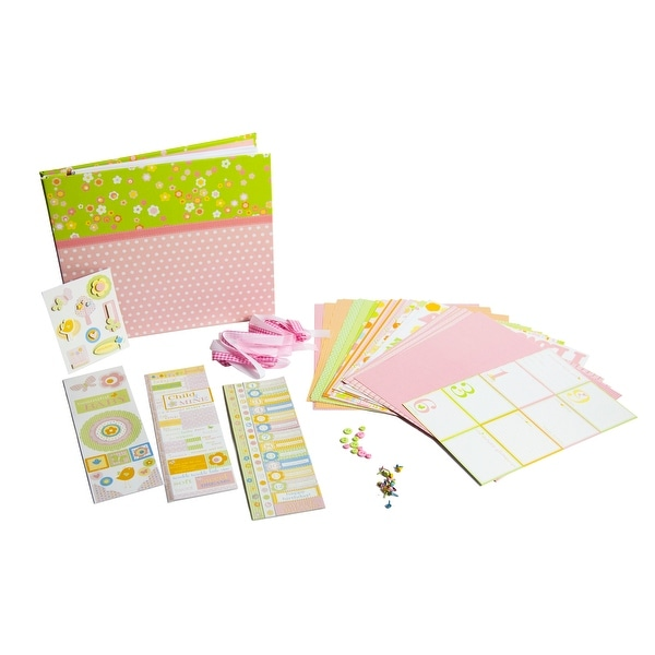 Deja Views Baby Collection Baby Girl Album Kit