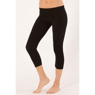 Motionwear Foldover Capri Pants