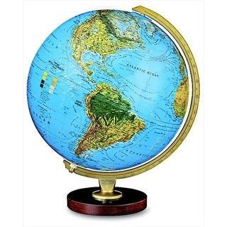 Replogle 1015090 Livingston Physical-Political Globe, 12 In.