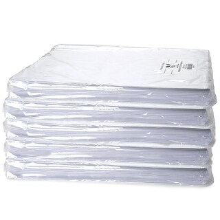 "Pack Of 5, Solid White Premium Tissue Paper 18 x 27"" 960 Sheets/Pack Made In Usa"