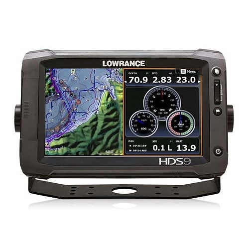 Lowrance HDS-9 Gen2 Touch Insight w/ 83/200 and LSS-2 Transom Mount Transducers HDS-9 Gen2 Touch Insight with 83-200 and LSS-2