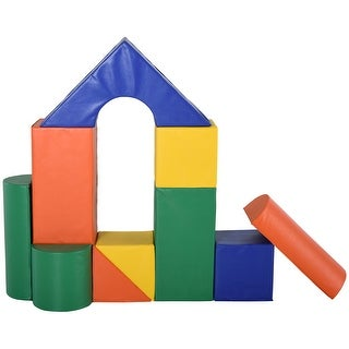 Link to Soozier 11 Piece Soft Play Blocks Soft Foam Toy Building and Stacking Blocks Non-Toxic Compliant Learning Toys Similar Items in Activity Gear
