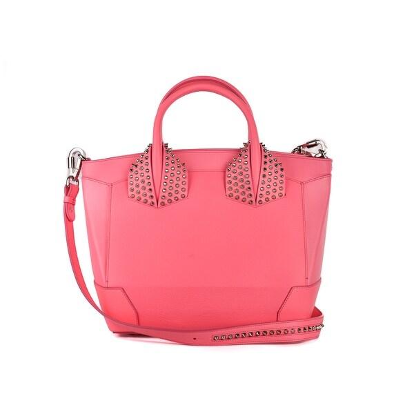 b84bf93b485 Shop Christian Louboutin Womens Eloise Pink Large Studded Leather ...