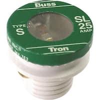 Bussmann 25A Plug Fuse SL-25PK4 Unit: BOX