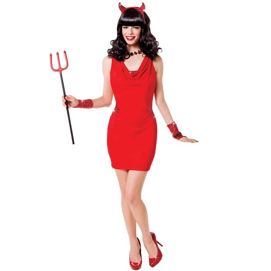529d2cf979dfd Goddessey Red Hot Too Adult Costume