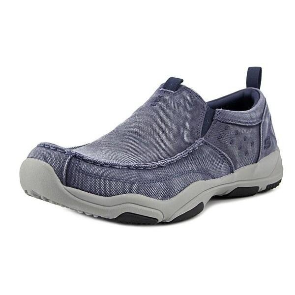 Skechers Larson-Bolten Apron Toe Canvas Loafer