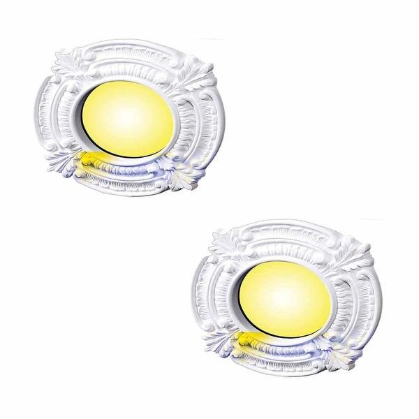 2 Spotlight Rings White Urethane 4 ID Set of 2