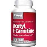 Jarrow Formulas - Acetyl L-Carnitine - 120 Capsules