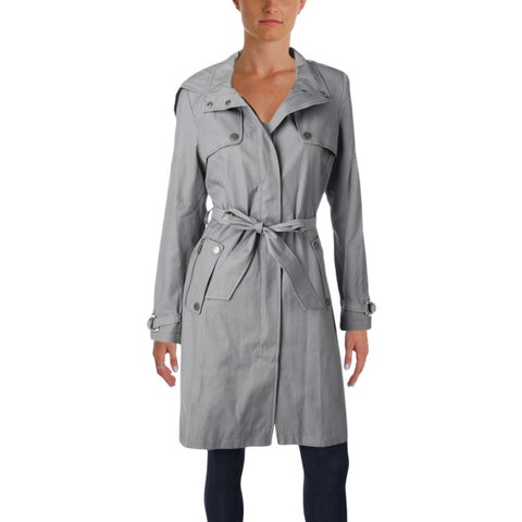 DKNY Womens Trench Coat Fall Lightweight - M