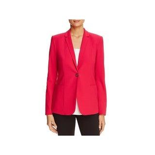 T Tahari Womens Reisling One-Button Blazer Professional Office