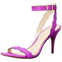 Jessica Simpson Womens Morena Open Toe Casual Ankle Strap Sandals