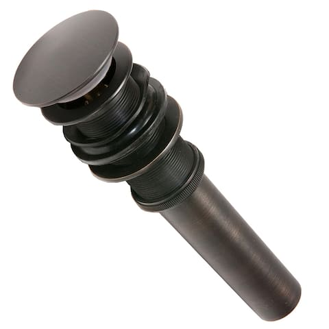 Premier Copper Products D-208ORB 1.5-inch Non-Overflow Pop-up Bathroom Sink Drain - Oil Rubbed Bronze