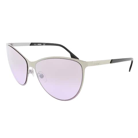 Diesel DL0113/S 16Z Shiny Palladium Cat Eye sunglasses - 61-15-140
