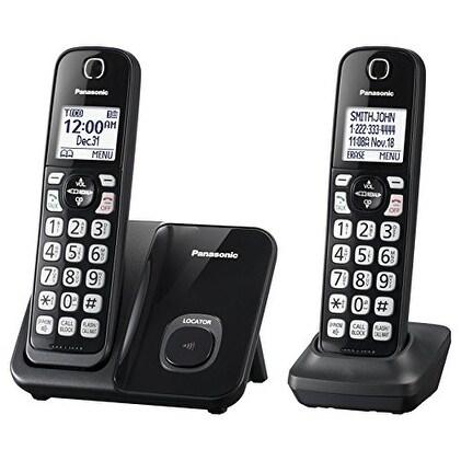 Panasonic Consumer Products - Kx-Tgd512b - Talking Caller Id 150 Call Block 1.6In. White Lcd Handset Locator 2 Han