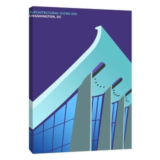 """PTM Images 9-105814  PTM Canvas Collection 10"""" x 8"""" - """"Architectural Icons 5"""" Giclee Architecture Art Print on Canvas"""
