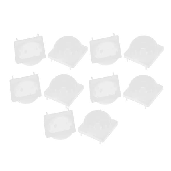 10 Pieces Body IR Sensor Infrared Fresnel Lens Modular White