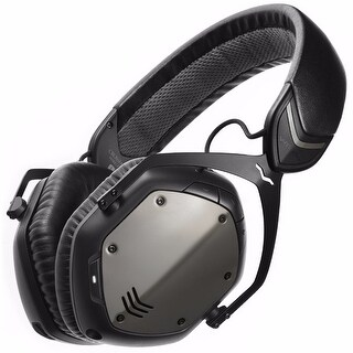 V-MODA Crossfade Bluetooth Headphones (Gunmetal Black)
