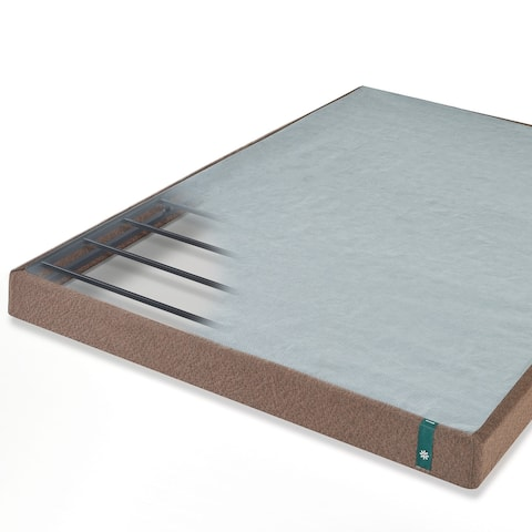 Priage by ZINUS Brown Metal Mattress Foundation
