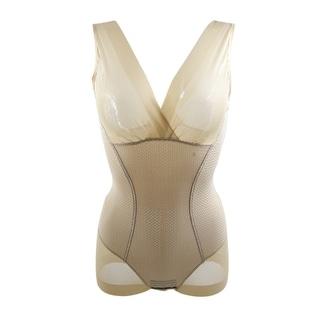 Full Body Tummy Waist Shaping Shapewear Bodysuits Shaper Skin Color Size XL