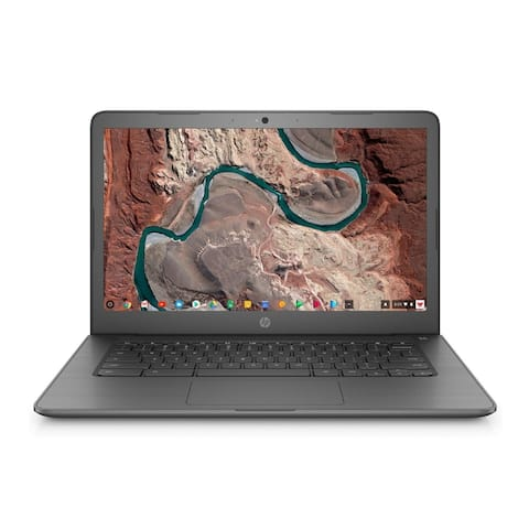 "HP 14-CA 14"" FHD Chromebook Intel N3350 4GB 64GB Chrome OS(Renewed)"