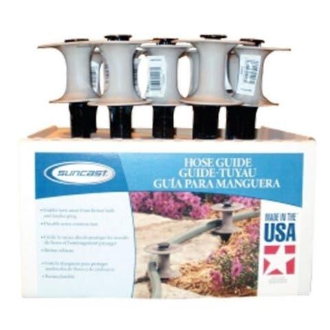 Suncast HS10210PK Taupe Plastic Hose Guide- - pack of 10