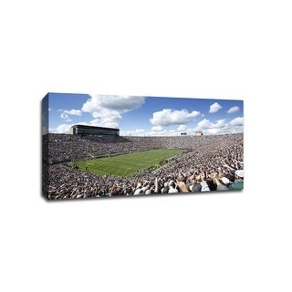 Notre Dame - CollegeFootball - 40x22 Gallery Wrapped Canvas Wall Art