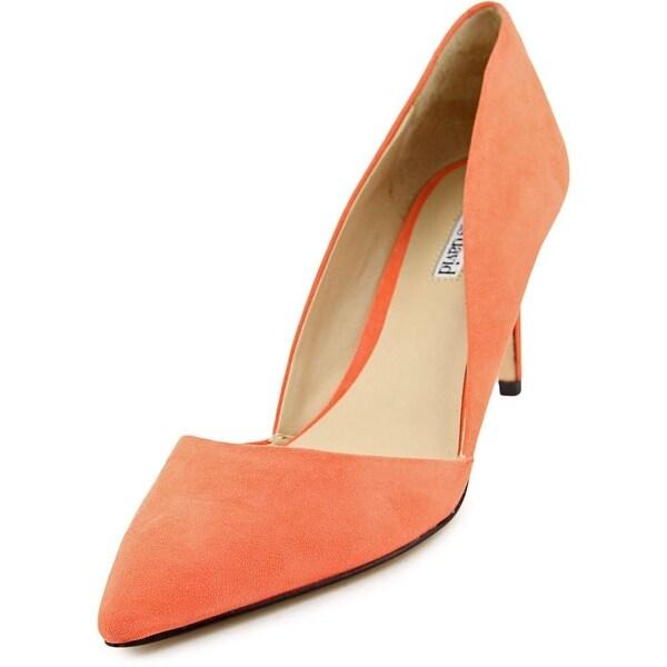Charles David Lulu Women Pointed Toe Leather Heels