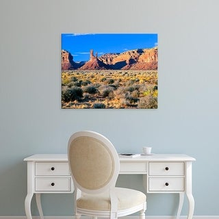 Easy Art Prints Bernard Friel's 'Pinnacles And Buttes In Valley Of The Gods' Premium Canvas Art