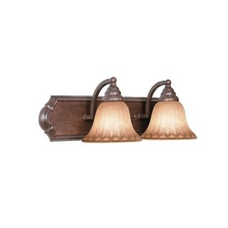 Woodbridge Lighting 50036 Broadmore 2 Light Bordeaux Vanity Light