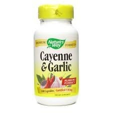 Nature's Way Cayenne-Garlic (100 Capsules)