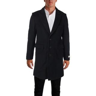 MICHAEL Michael Kors Mens Pea Coat Wool Blend Slim Fit