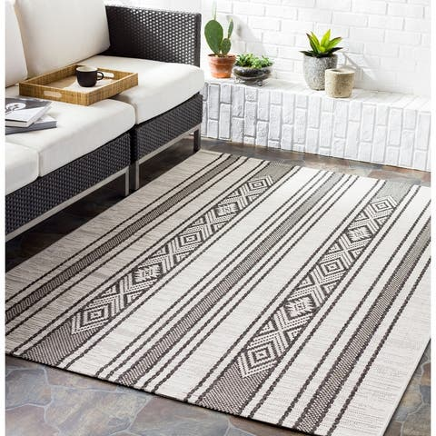 Tansy Indoor/ Outdoor Nordic Stripe Area Rug