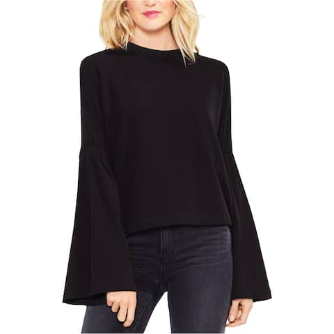 Vince Camuto Womens Bell Sleeve Basic T-Shirt