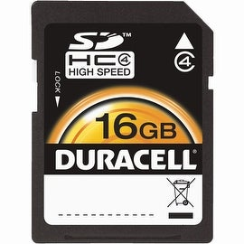 Duracell 16Gb Sdhc Memory Card