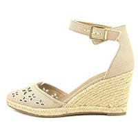 Unisa Womens areia Closed Toe Casual Ankle Strap Sandals, Pink, Size 9.5