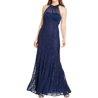 Nightway Womens Evening Dress Lace Embellished